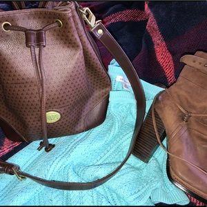 Vintage Liz Claiborne Bucket Bag